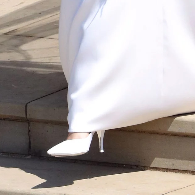 Satin Heels Wedding