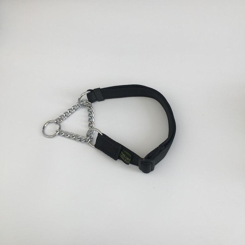 Half Check Dog Collar