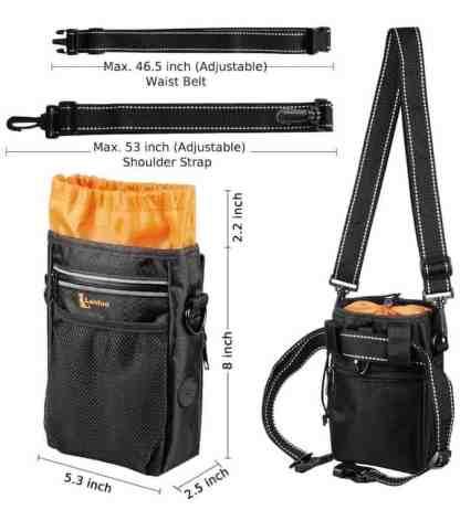 Dog Treat bag sizes