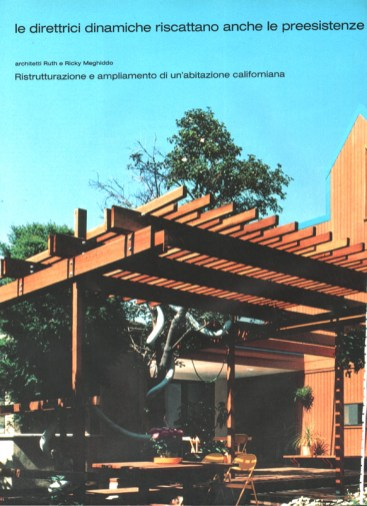 Rick Meghiddo, Ruth Meghiddo, Meghiddo Architects, www.architectureawareness.com , www.rick-RE.com , www.naturaltowergarden.com , L'Architettura, Bruno Zevi,