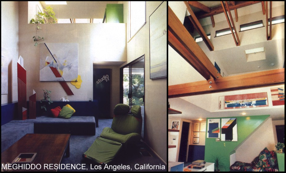 Living room and studio