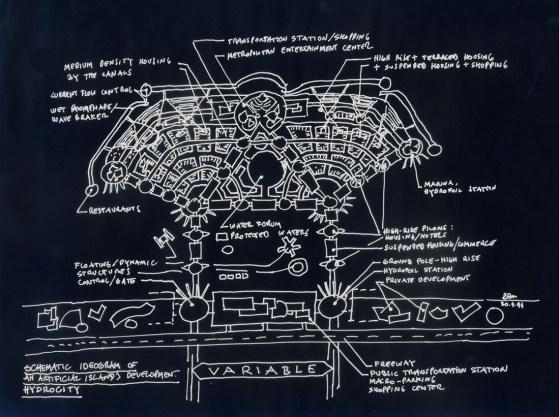 Artificial Island Concept, 1994