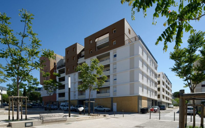 Residence ELAIA-65 logements-MONTPELLIER