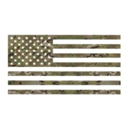 MULTICAM USA FLAG Decal