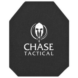 Chase Tactical 4S17 Level IV Rifle Plate NIJ 06 Certified & DEA Compliant (Single Curve)