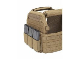 Elastic Triple Mag Pouch COyote Rig