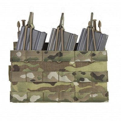 Recon Plate Carrier Triple Mag Pouch Panel
