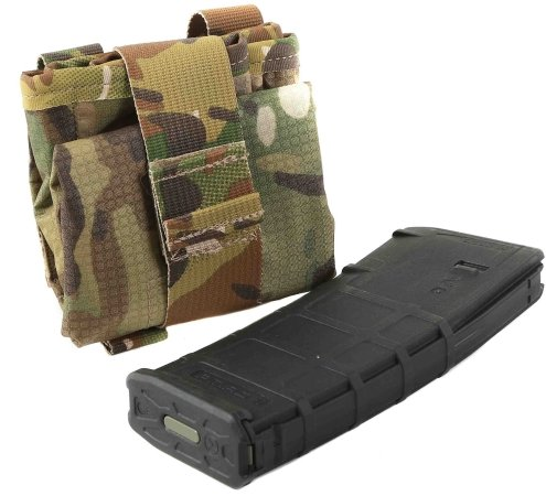 Raine Tactical SOF Dump Pouch Folded