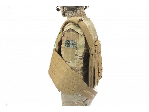 WARRIOR ASSAULT SYSTEMS DCS Releasable Plate Carrier Side