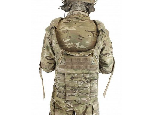 WARRIOR ASSAULT SYSTEMS DCS Releasable Plate Carrier back