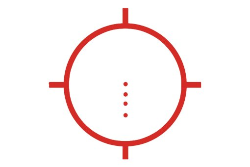 EOTech Reticle with 4 Dots