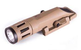 Haley Strategic INFORCE WMLX Multi Function Tactical Flashlight Coyote