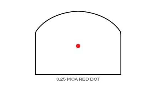 RMR 3.25 MOA Red Dot Reticle