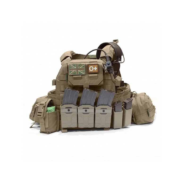 Warrior Polymer 5.56 Mag Pouches for plate Carrier