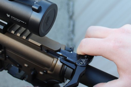Vendetta Precision VP-25 Extended Ambi Charging Handle