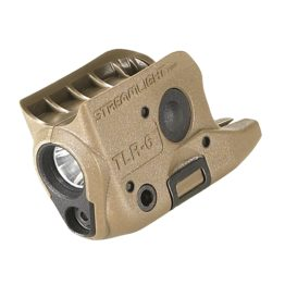 Streamlight TLR-6 Rail Mount Light w:Laser Coyote