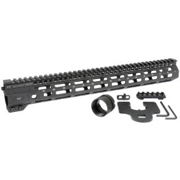 15 Midwest Industries 1-Piece Free Float Combat Rail M-LOK Handguard