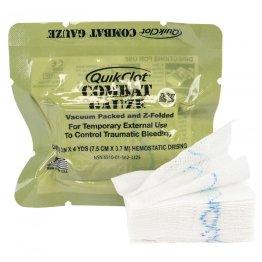 QuikClot Combat Gauze Z-Fold Hemostatic
