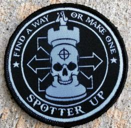 Spotter Up INTO THE VOID 5 Arrow Patch