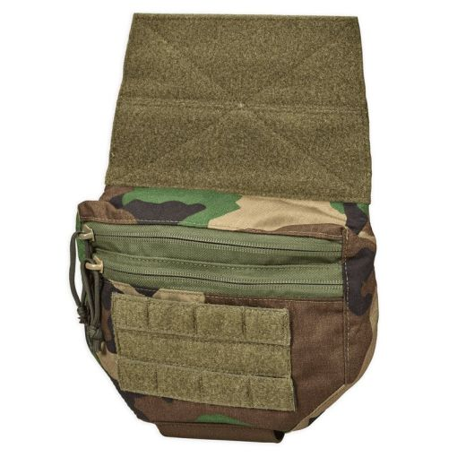 Chase Tactical JOEY Plate Carrier Utility Pouch M81 Woodland
