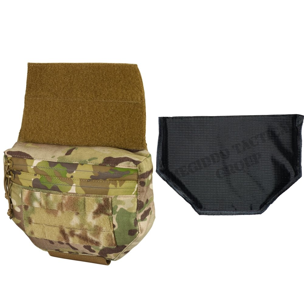 Chase Tactical JOEY Plate Carrier Utility Pouch & Level IIIA 3A300 Soft  Armor Combo Kit