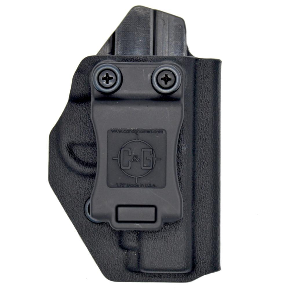 INSIDE THE WAISTBAND LEATHER HOLSTER FOR SIG SAUER P238 IWB HOLSTER W// CLIP.