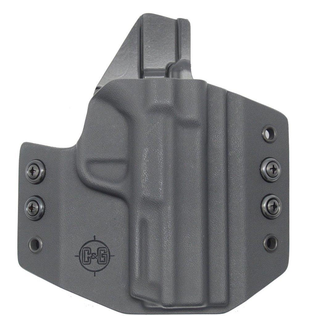 C&G Smith & Wesson M&P 380 Shield EZ OWB Covert Kydex Holster - Quickship
