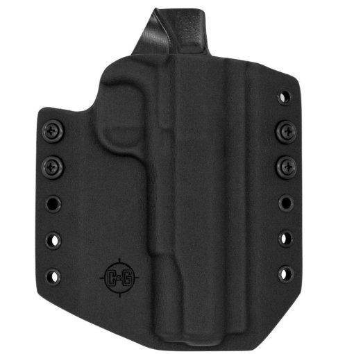 C&G Kimber 1911 5 OWB Covert Kydex Holster - Quickship 1