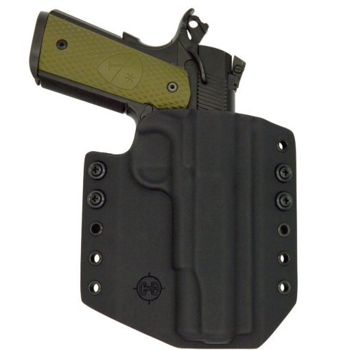 C&G Kimber 1911 5 OWB Covert Kydex Holster - Quickship 2