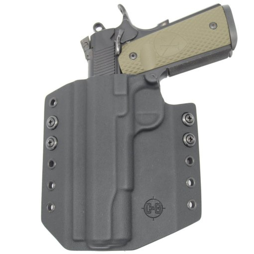 C&G Kimber 1911 5 OWB Covert Kydex Holster - Quickship 5