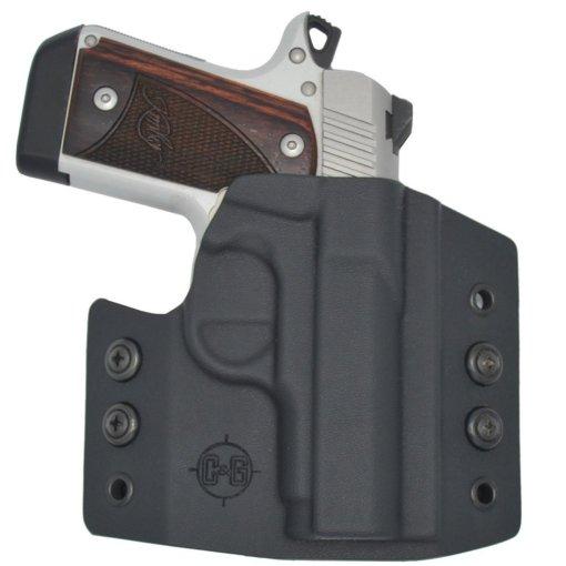 C&G Kimber Micro 9 OWB Covert Kydex Holster - Quickship 2