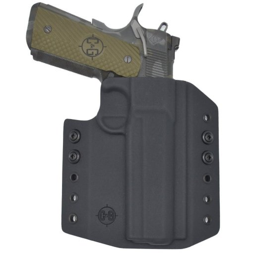 C&G Springfield Armory 1911 5 Railed OWB Covert Kydex Holster - Quickship 2