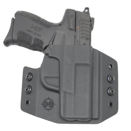 C&G Springfield Armory XD Mod 2 9-40 4 OWB Covert Kydex Holster - Quickship 2