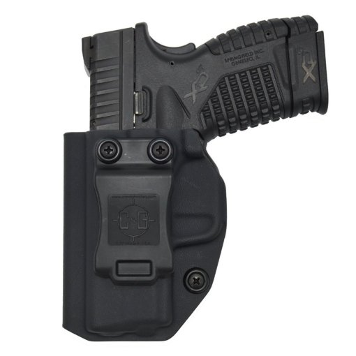 C&G Springfield Armory XDs 3.3 IWB Covert Kydex Holster - Quickship 5