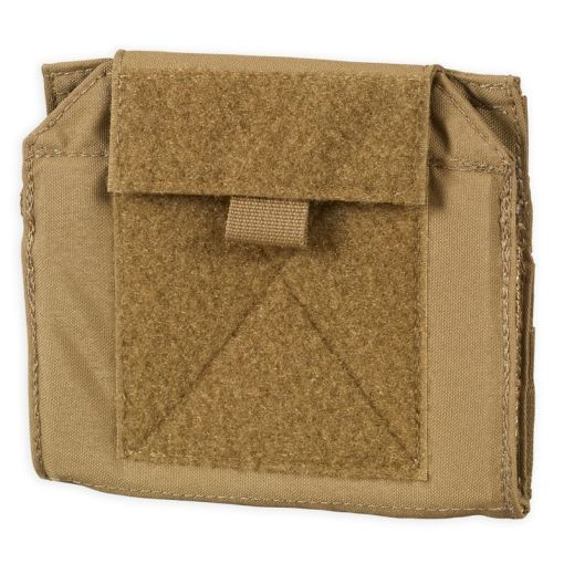Chase Tactical Folding Admin Pouch - Coyote Closed 1