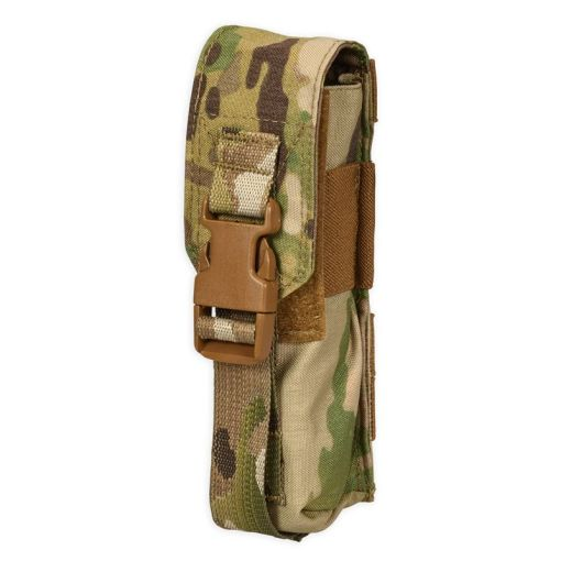 Chase Tactical Large Flashlight/Suppressor Pouch - Multicam