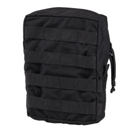 Chase Tactical Large Vertical General Purpose Utility Pouch - Black