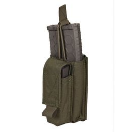 Chase Tactical Single Kangaroo 5.56 & Pistol Mag Pouch - Black