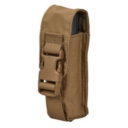 Chase Tactical Small Flashlight/Suppressor Pouch - Coyote