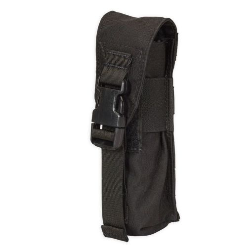 Chase Tactical Large Flashlight/Suppressor Pouch - Black