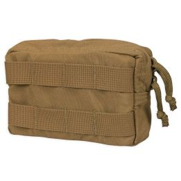 Chase Tactical Medium Horizontal General Purpose Utility Pouch - Coyote