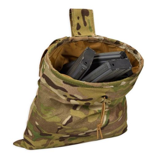 Chase Tactical Roll-Up Dump Pouch - Multicam