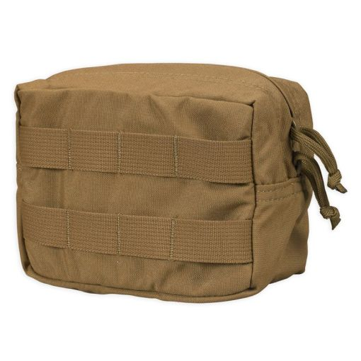 Chase Tactical Small Horizontal General Purpose Utility Pouch - Coyote