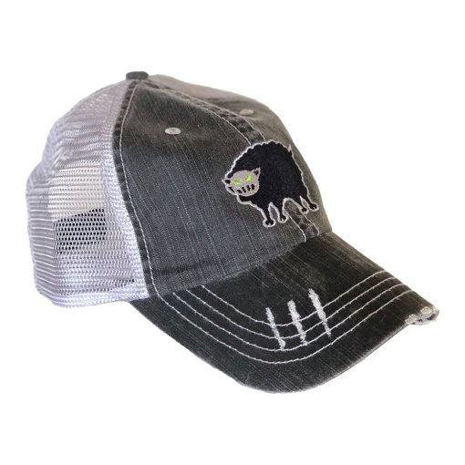 Black Sheep Warrior Vintage Trucker Cap