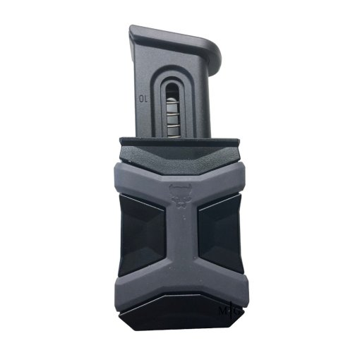Best polymer Single Pistol mag pouch Black