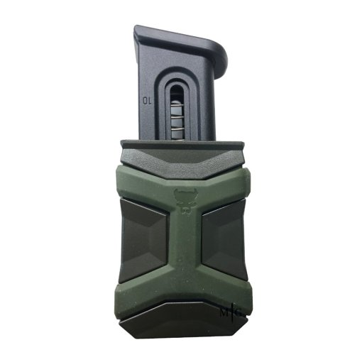 Best polymer Single Pistol mag pouch OD Green