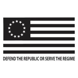 MTG Defend the Republic Flag Decal