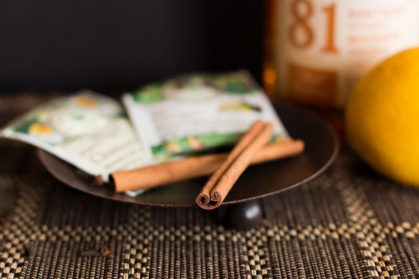 Cinnamon sticks - the foundation of the recipe