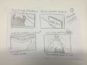 Storyboards by Bethnay