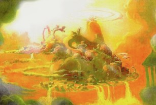 Visual Development by Francis Glebas for Hercules